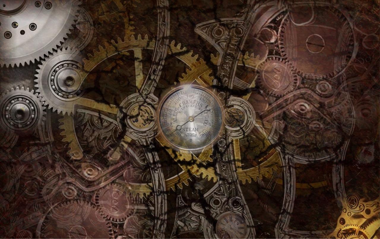 Best Wallpaper Music Steampunk - Gears-in-maroon-gold  Best Photo Reference_73824.jpg